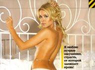 Обнаженная Алена Кравец в эротической фотосессии MAXIM