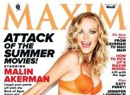 Обнаженная Малин Акерман в эротической фотосессии MAXIM