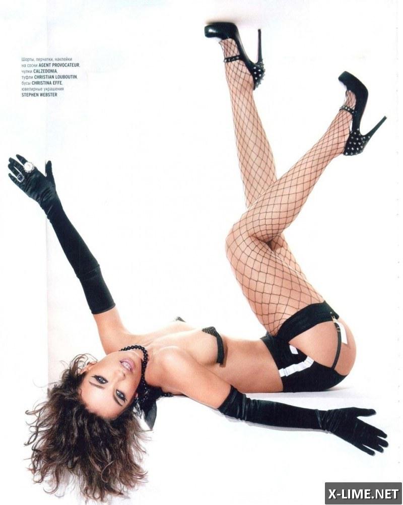 Обнаженная Виктория Дайнеко, фото в журнале PLAYBOY