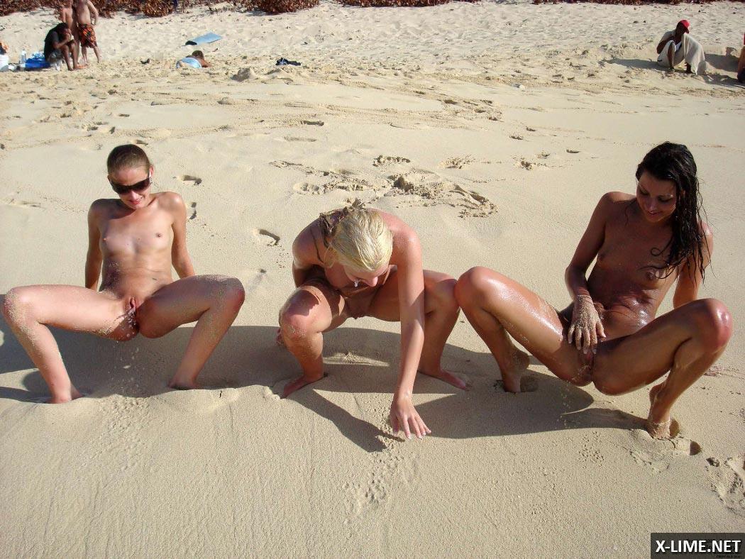 Эротические фото голых девушек на пляже (40 ФОТО)