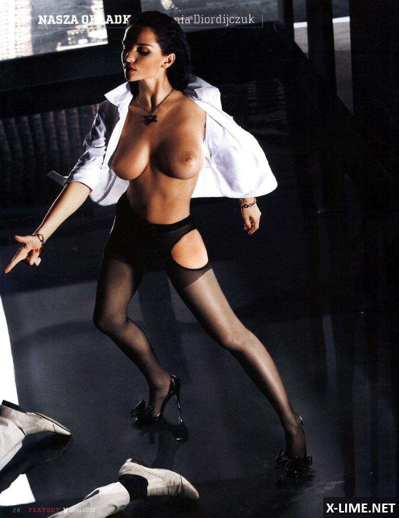 Голая Евгения Диордийчук в эротической фотосессии PLAYBOY