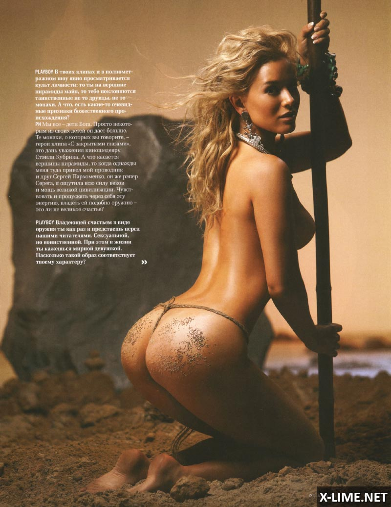 Голая Маргарита Смелянская в эротической фотосессии PLAYBOY