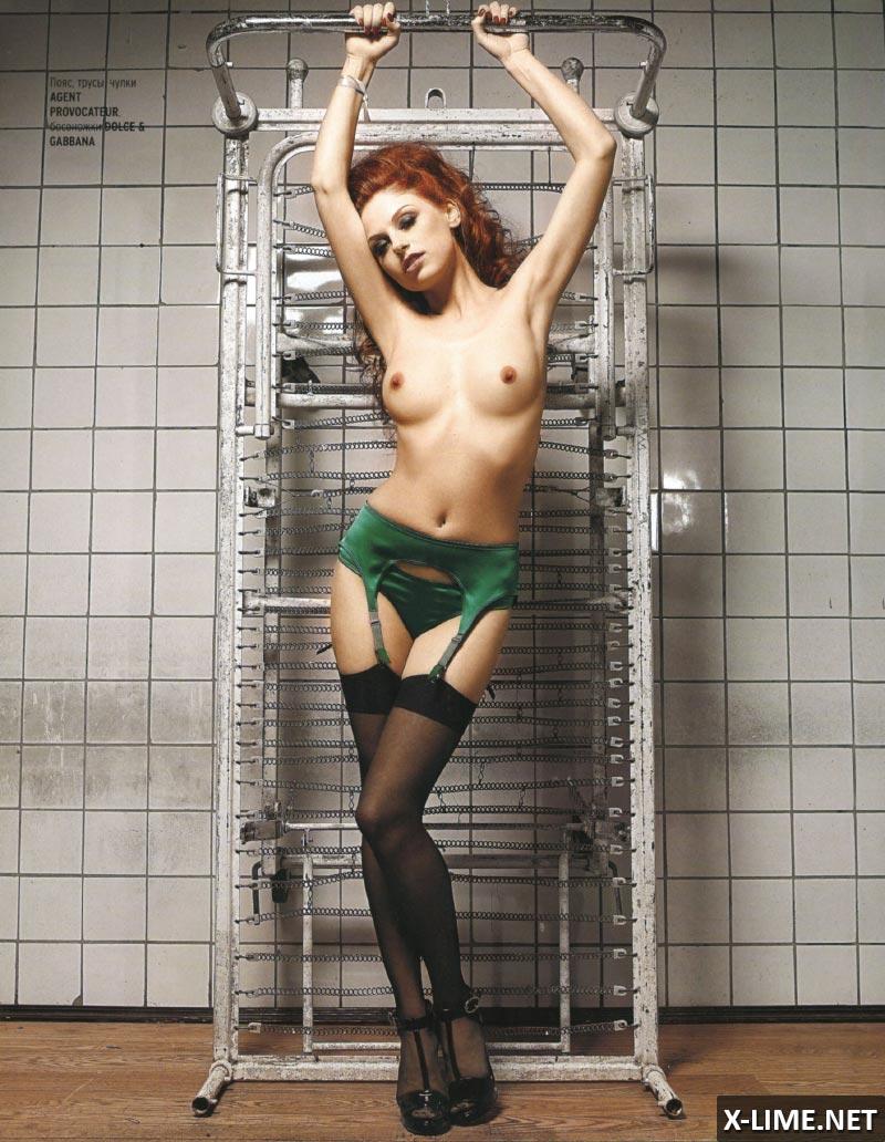 Обнаженная Ирина Забияка в эротической фотосессии PLAYBOY