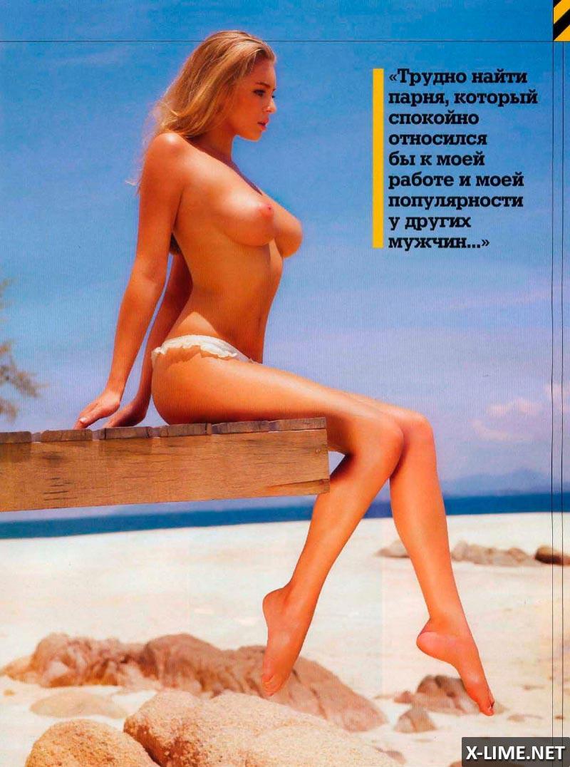Обнаженная Кили Хейзел в эротической фотосесии MAXIM