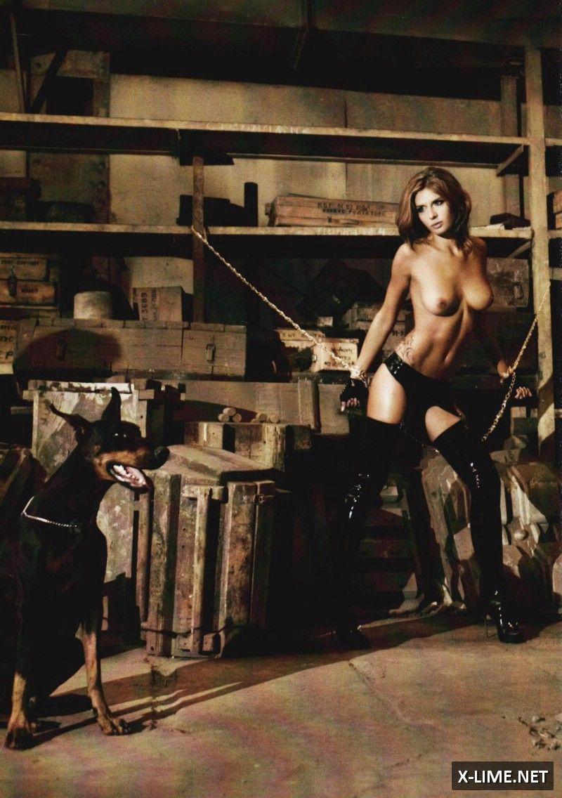 Голая Марина Литвинова в откровенной фотосессии журнала XXL