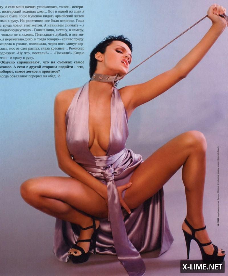 Голая Слава в Penthouse и Playboy  sexicelebsru