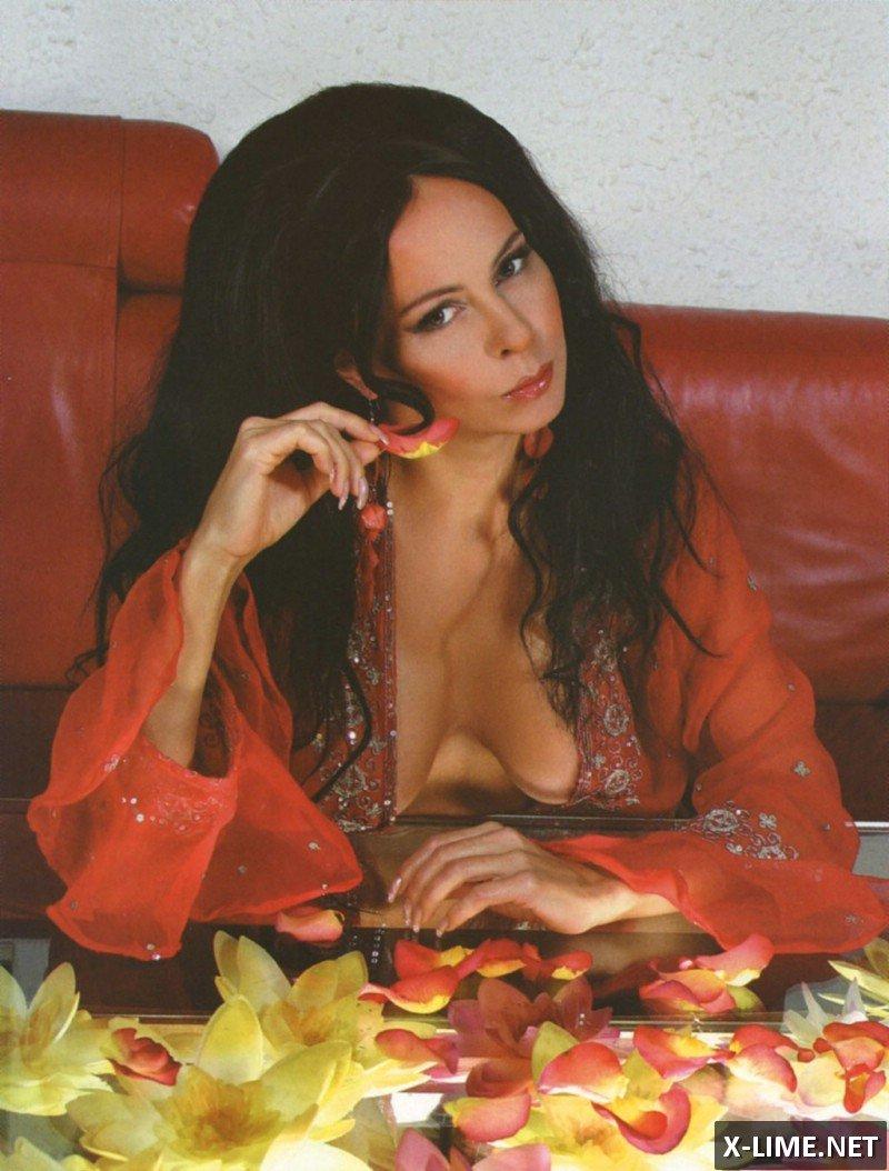 Голая Марина Хлебникова в откровенной фотосесии Panthouse