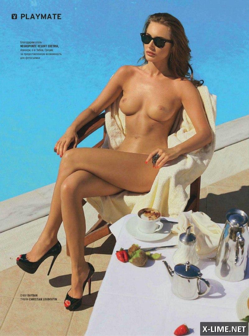 Голая модель Ольга Рудыка в фотосессии PLAYBOY