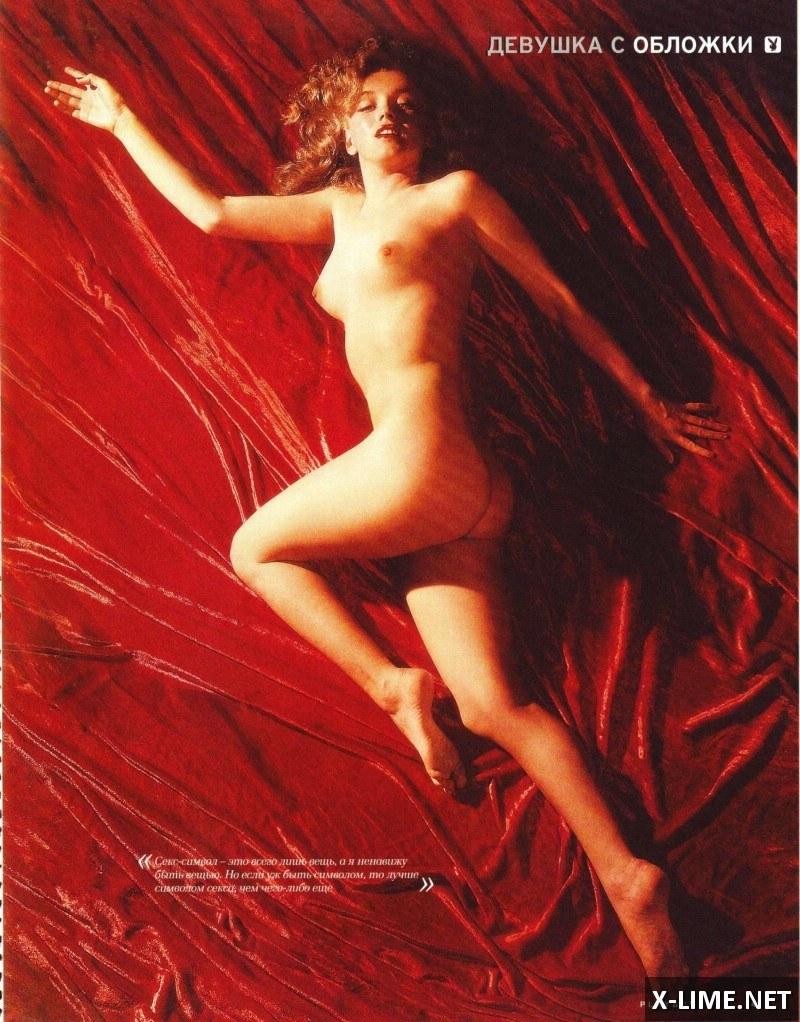 Голая Мэрилин Монро в откровенной фотосессии PLAYBOY