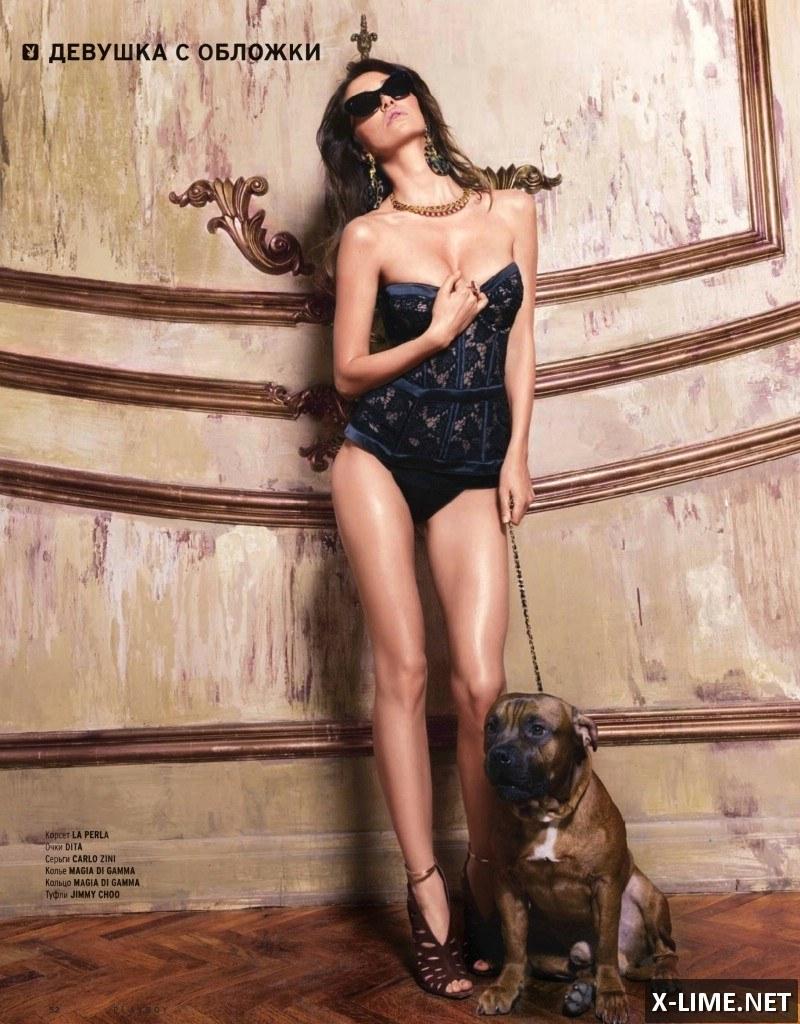 Голая Лера Кондра, эротические фото в журнале PLAYBOY