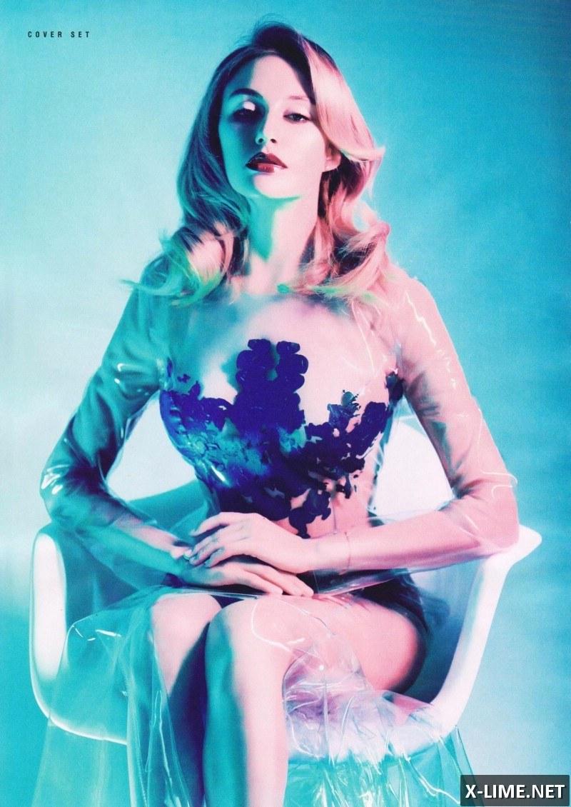 Голая Ева Бушмина в откровенной фотосессии XXL