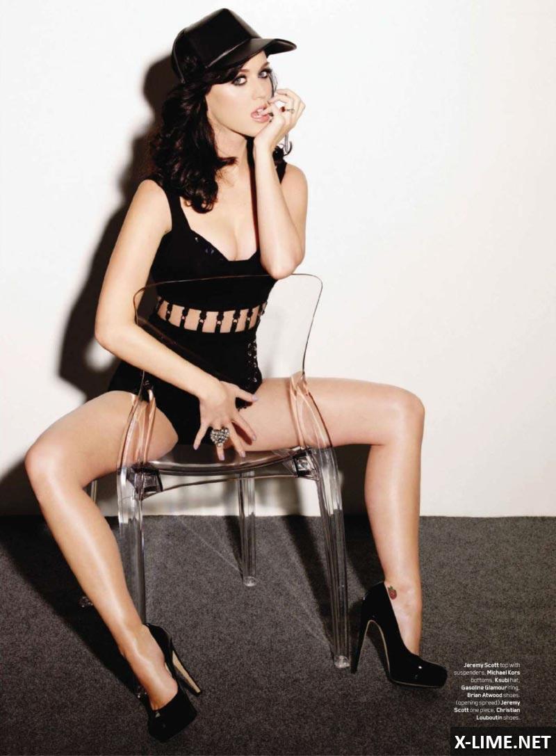 Голая Кэти Перри в откровенной фотосессии MAXIM