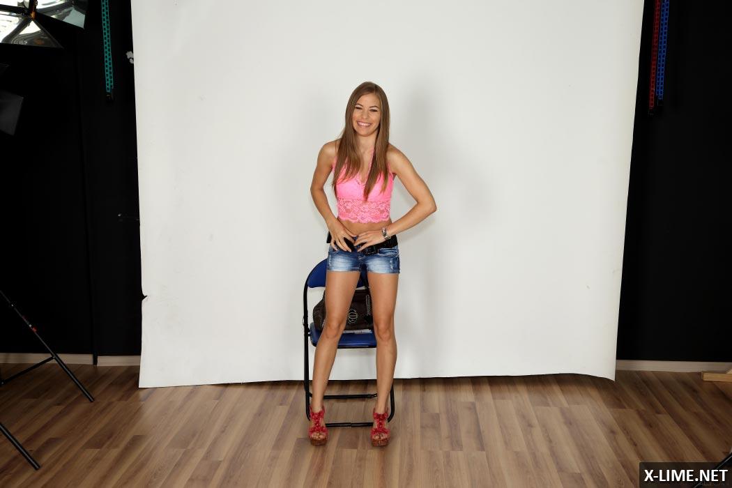 Шатенки модели порно 4 фотография