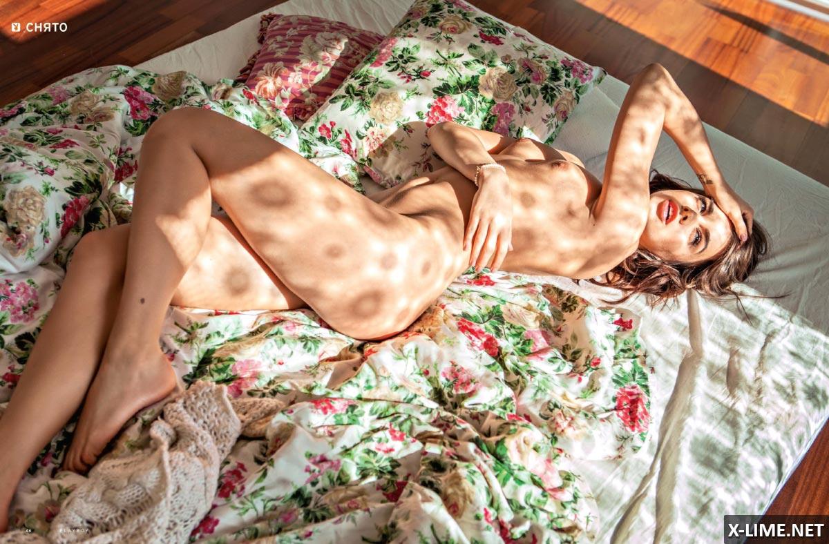 Голая Анита Сикорска, откровенные фото PLAYBOY