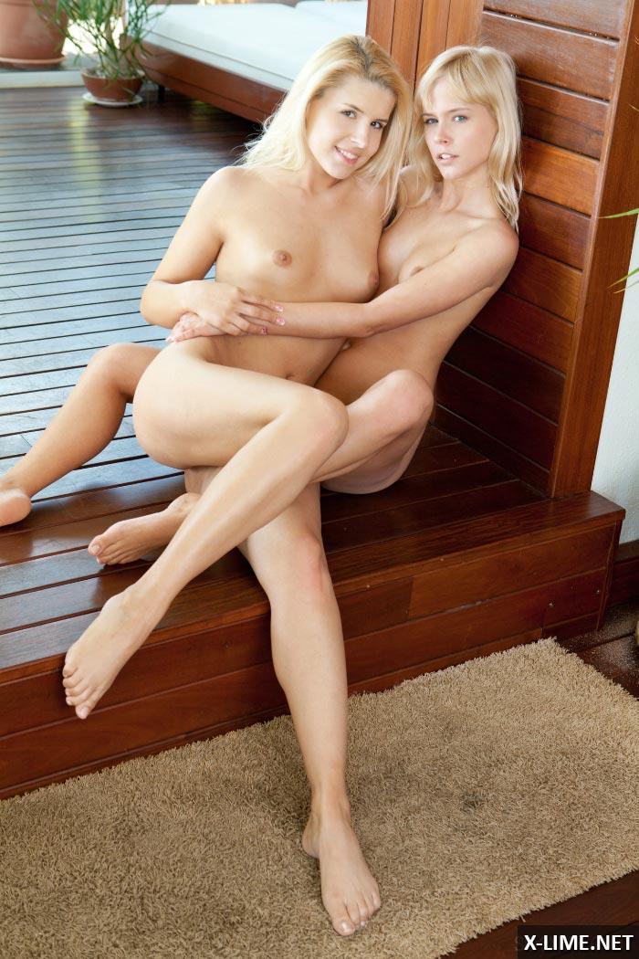 Секс лесбиянок блондинок