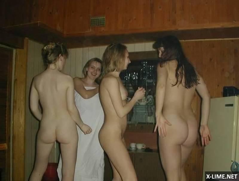 Подборка голых девушек в бане и сауне (75 ФОТО)