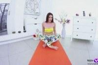 Порно Видео: Мастурбация после йоги