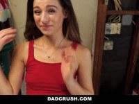 Порно Видео: Petite Step-Daughter Fucked In Kitchen