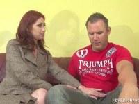 Порно Видео: Кончил на большую грудь жены