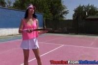 Порно Видео: Мастурбация молодой теннисистки