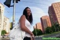 Порно Видео: Amateur pickedup euro riding cock