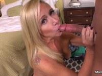 Порно Видео: New Blonde Milf gets Anal Creampie POV