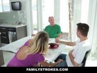 Порно Видео: Hot Mom Fucks Step-Son