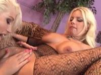Порно Видео: Лесби блонды