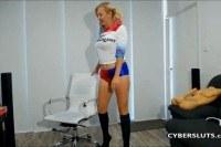Порно Видео: Kinky Blonde Teen with Big Tits
