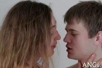Порно Видео: Deep and sensual anal pounding